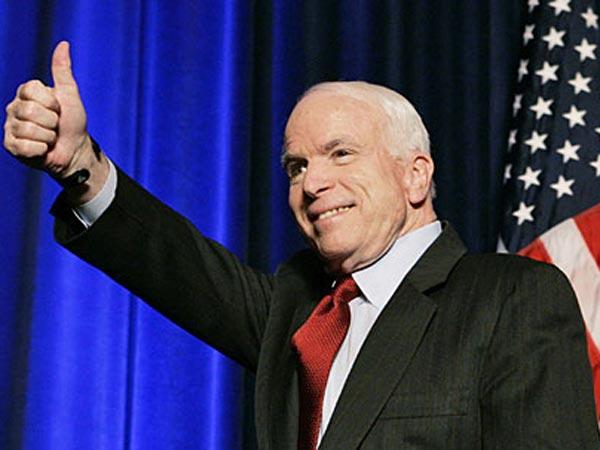 Улицу в Киеве назвали именем американского сенатора Джона Маккейна