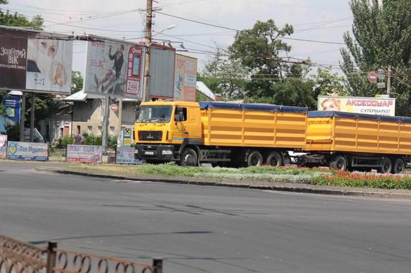 Запрет на въезд в Николаев для большегрузов в часы пик воплотят только через 2 месяца