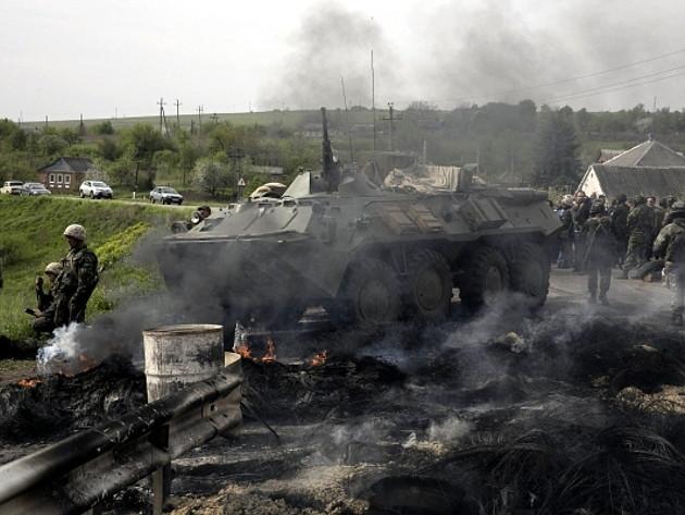 В Запорожской области беспилотники атаковали военные склады