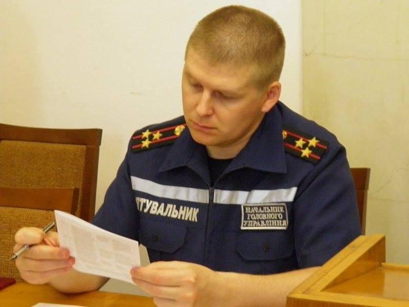 Главе ГУ ГСЧС в Николаевской области Максиму Грицаенко присвоено звание генерал-майора