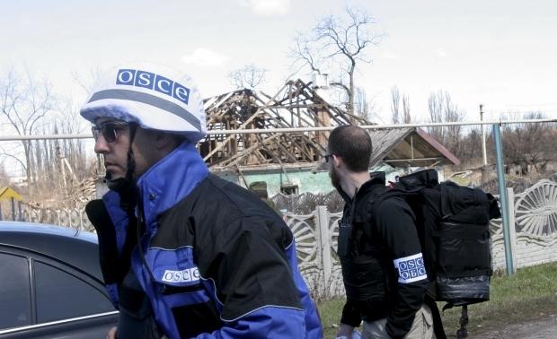 Агрессивные жители оккупированной Горловки набросились на миссию ОБСЕ