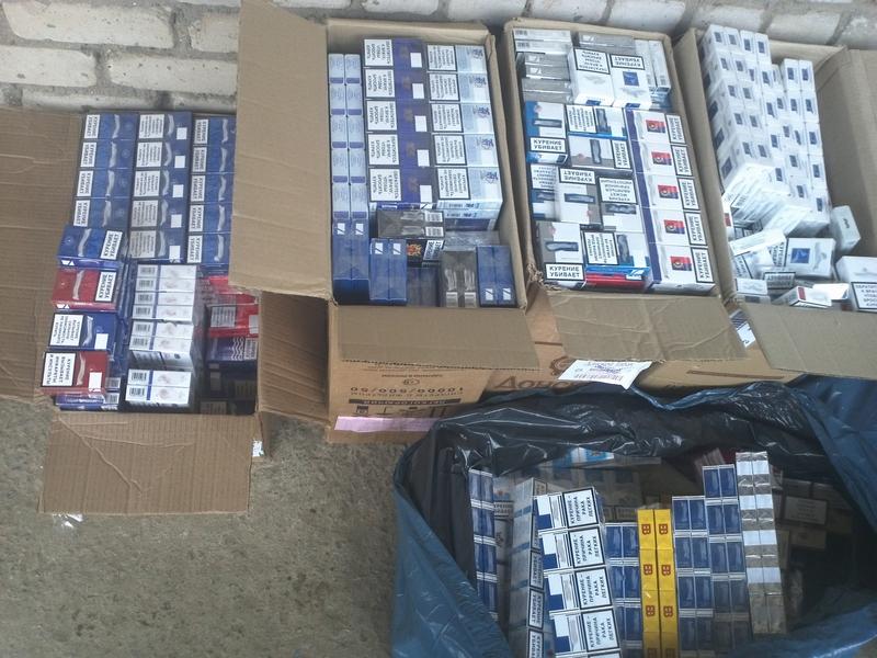 В Николаевской области вывели из незаконного обращения сигарет на сумму около 70 тысяч гривен