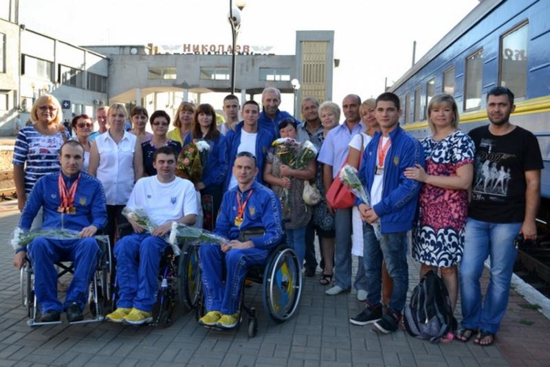 Николаевские пловцы-паралимпийцы Геннадий Бойко и Сергей Паламарчук стали чемпионами мира