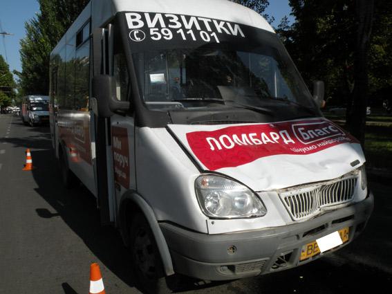 в Николаеве водитель маршрутки №21, сбившей трех человек, говорит, что у машины отказали тормоза