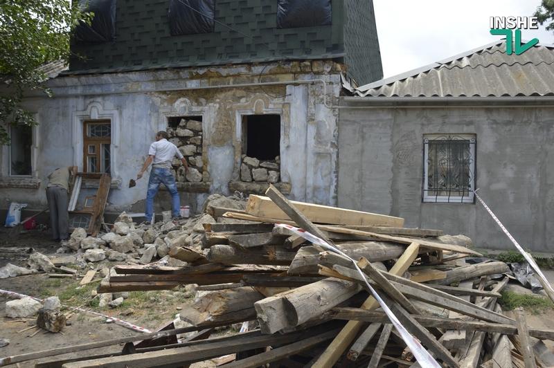 Причиной обрушения жилого дома на Сидорчука стало прогнившее деревянное перекрытие