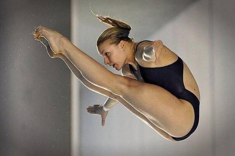 Николаевская спортсменка Елена Федорова взяла «золото» чемпионата Украины по прыжкам в воду