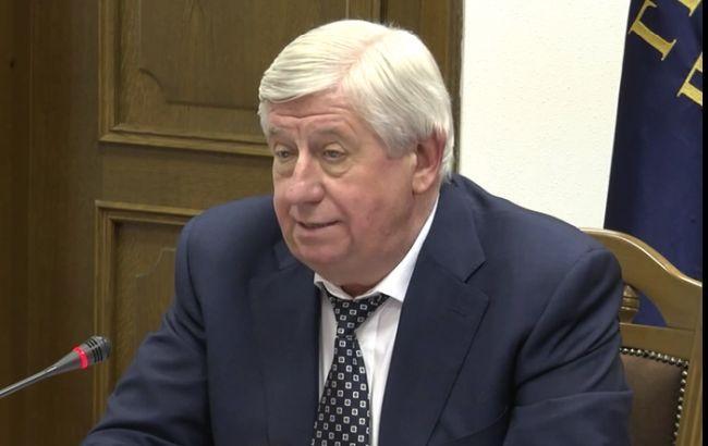ВАСУ отказал экс-генпрокурору Шокину и оставил его иск к президенту и ВР без движения
