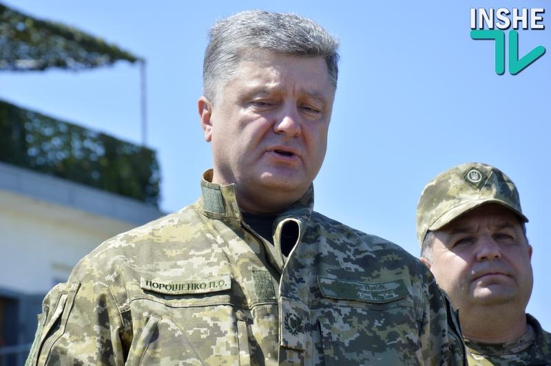 Порошенко наградил орденами 76 военнослужащих, в том числе 28 человек – посмертно