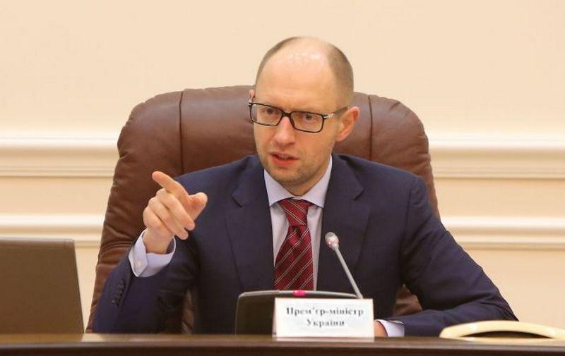 Яценюк заявил, что досрочные выборы в Украине нужны Путину, чтобы расколоть ЕС
