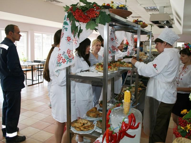 На НГЗ организовали кулинарное путешествие по Украине