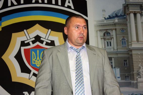 Видео задержания начальника одесской милиции