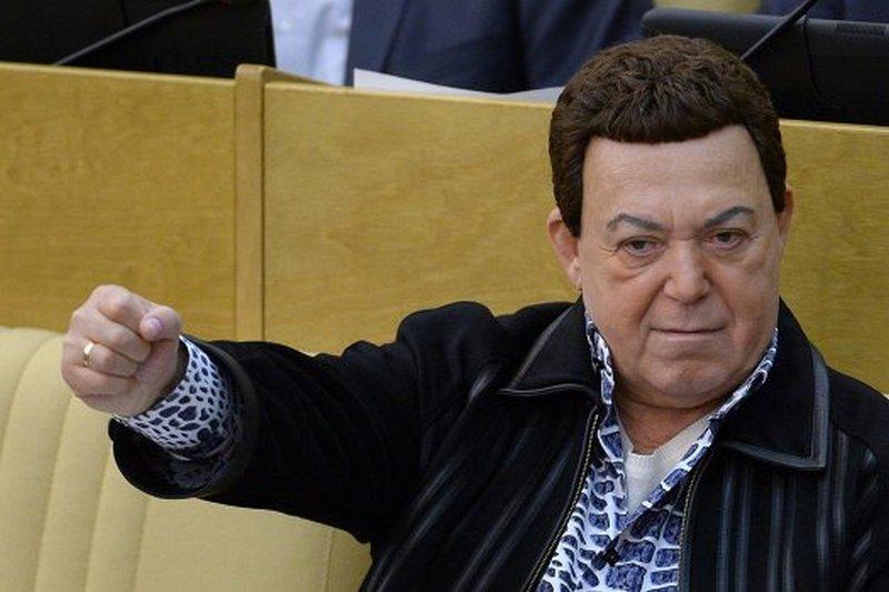 Кобзон сдал Захарченко