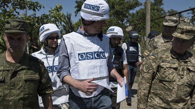 Россия заблокировала расширение полномочий ОБСЕ на Донбассе