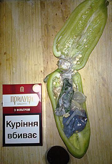 На Николаевщине в исправительную колонию пытались пронести марихуану в болгарском перце
