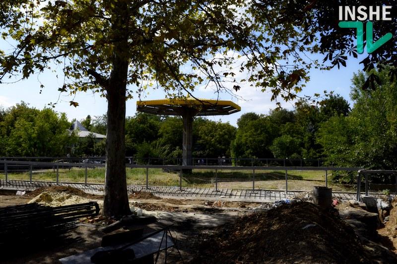 В Николаевском зоопарке реконструируется слоновник, а через неделю начнут строить жирафник