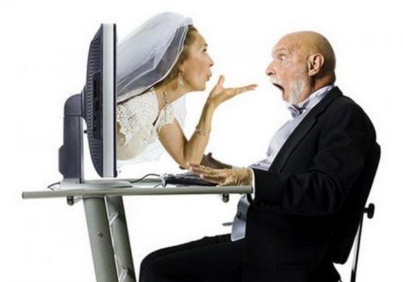 Мужчины зависимы от сайтов знакомств