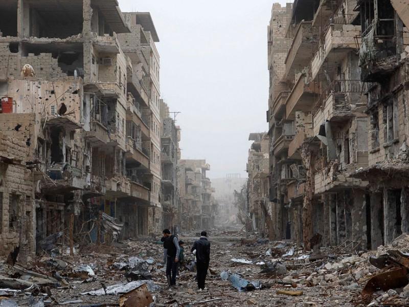 В столице Сирии возобновились ожесточенные бои