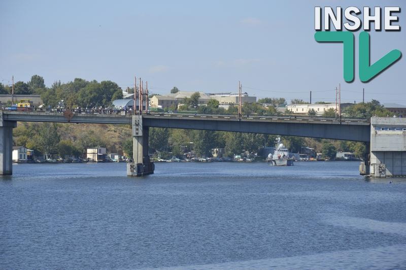День ВМС в Николаеве – на нижней Набережной состоится показ военно-морской техники. Поэтому разведут мосты