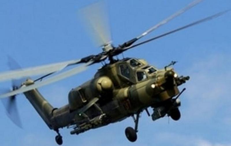 В Украине испытали вертолетный противотанковый ракетный комплекс