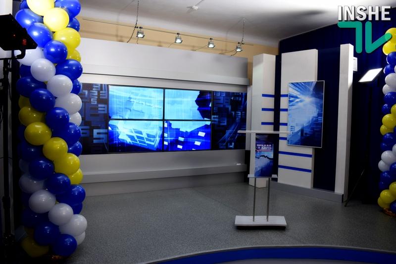 Новости – в обновленном формате: Николаевский региональный филиал НТКУ с понедельника стартует в новой новостийной студии