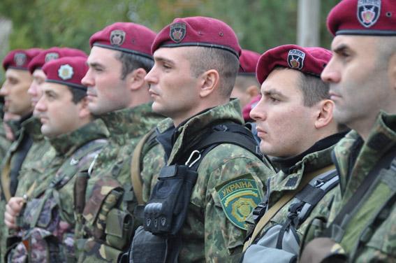 Ротация спецбатальона «Николаев»: одни вернулись из зоны АТО, другие туда отправились