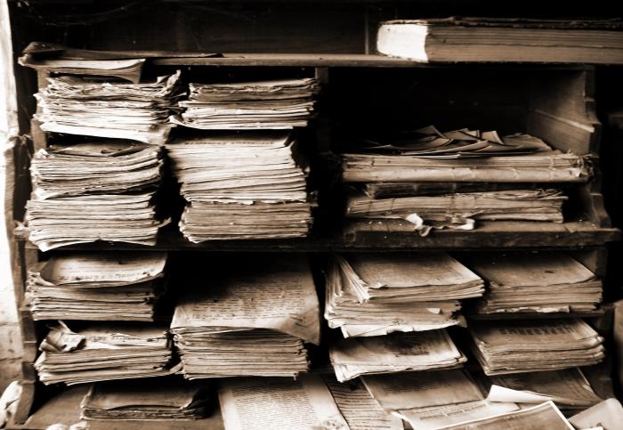 Историческая находка. В стене квартиры пожилая пара нашла более 6 тыс. ценных документов о подготовке Холокоста