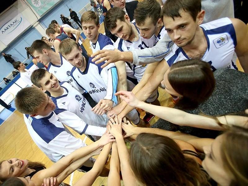 В Кубке Украины МБК «Николаев» одолел «Волыньбаскет» (ИНФОГРАФИКА)
