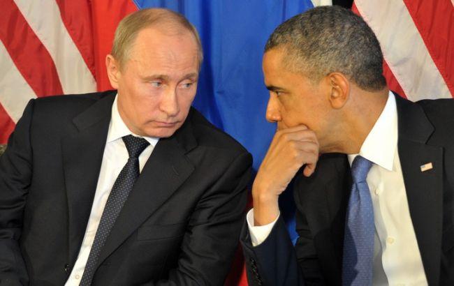 В.Путин и Б.Обама обсудили ситуацию в Украине и Сирии