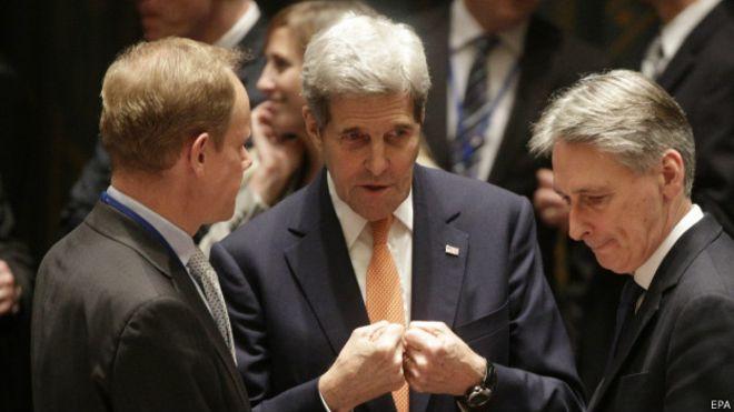 Украина начала подготовку к визиту госсекретаря США Керри