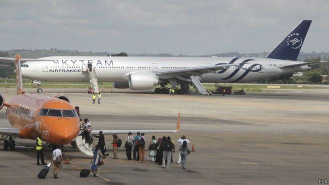 Air France: экстренная посадка в Кении была ложной тревогой
