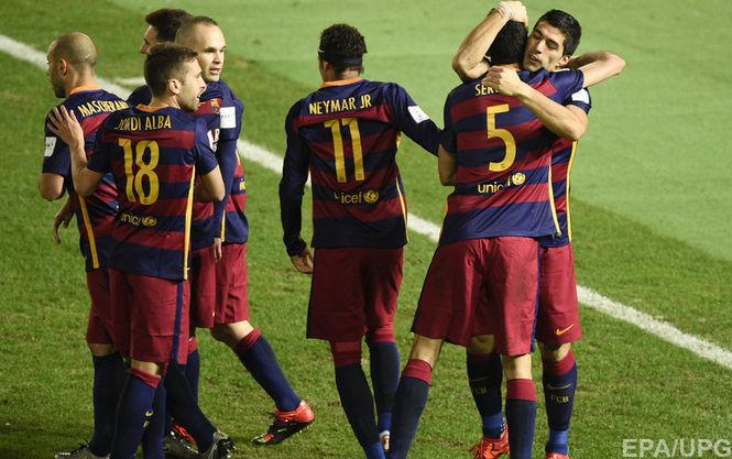 Барселона выиграла клубный чемпионат мира