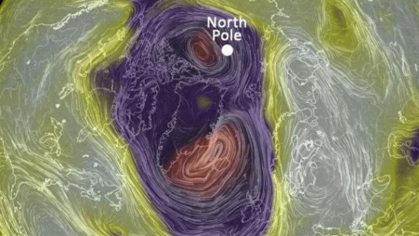 Аномальное потепление: на Северном полюсе — плюсовая температура