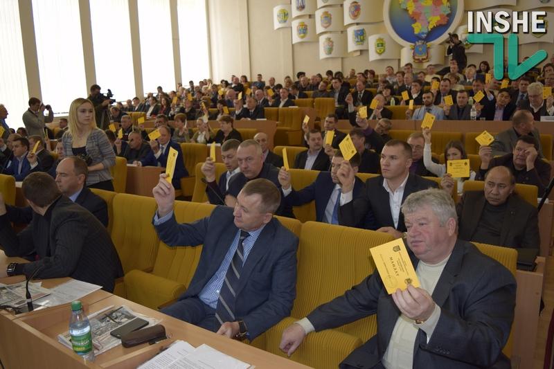 Демченко «выжала» из депутатов облсовета решение, призванное решить проблемы дорог Николаевской области