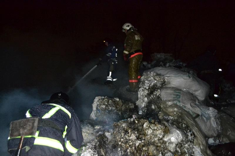 В Одессе – большой пожар, горел Суперфосфатный завод