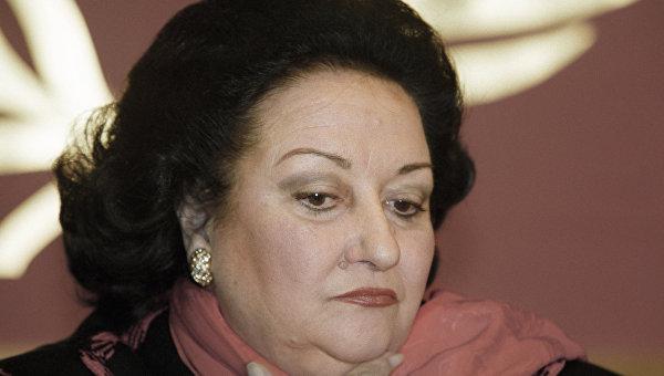 Умерла певица Монсеррат Кабалье