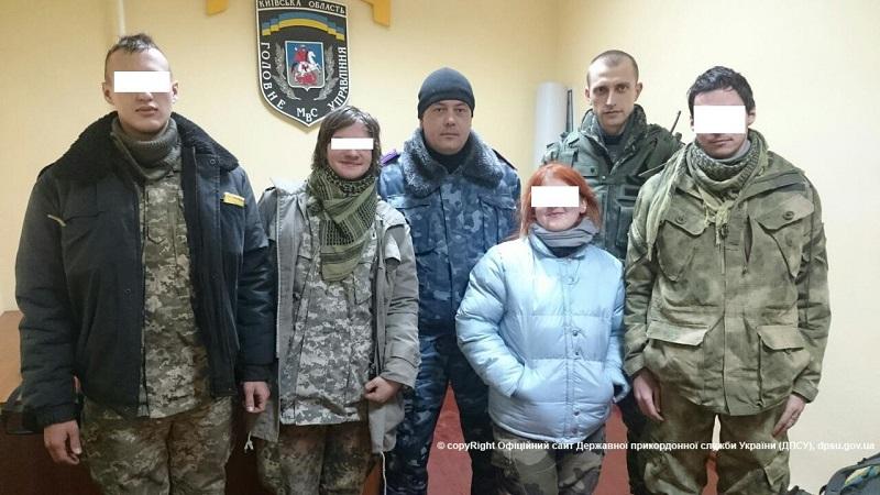 Задержаны экстремалы, которые пытались отпраздновать Новый год в Чернобыльской зоне