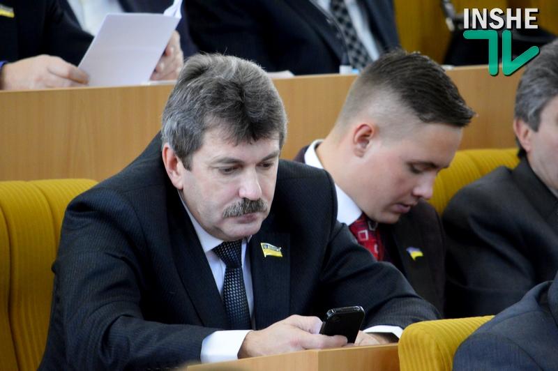 Не судьба: Паламарюк не стал заместителем главы Николаевского облсовета