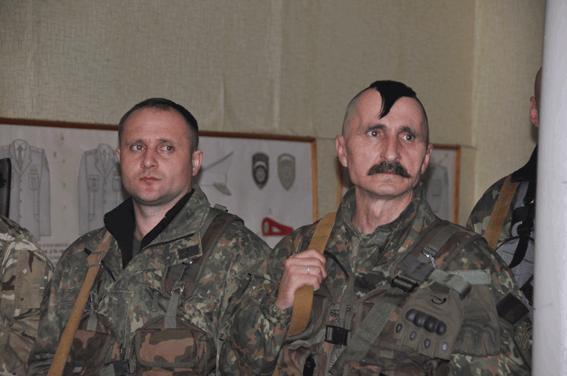Николаевские полицейские-спецназовцы отправились в зону АТО