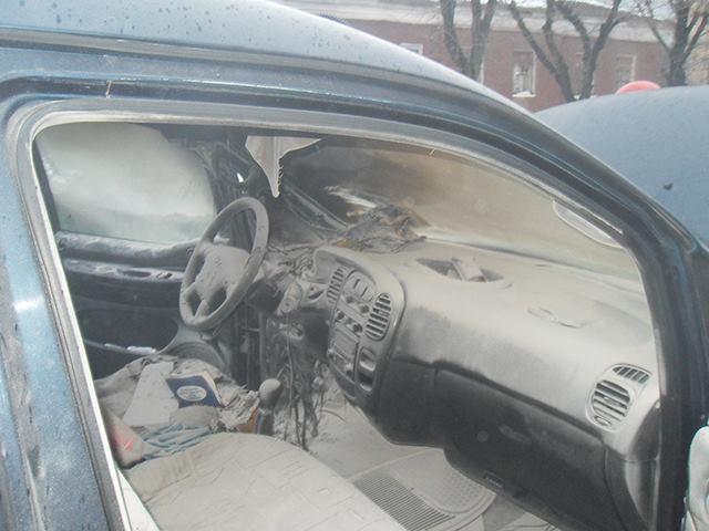 В Николаеве на ходу загорелся «Hyundai»