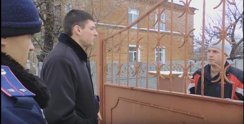 В Снигиревке депутатов горсовета не хотели без полиции пускать в детский сад, где проходит ремонт