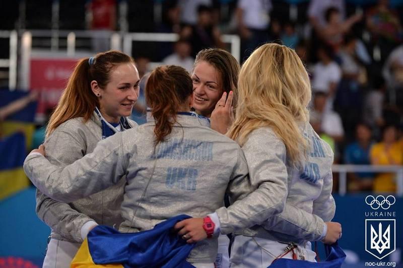 Украинские саблистки добыли победу на этапе Кубка мира, одолев сборную России