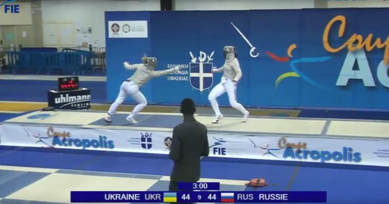 Ольга Харлан снова выцарапала последний удар: как Украина выиграла у России в Кубке мира по фехтованию