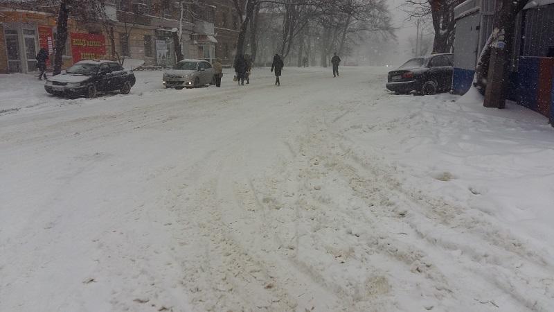 На Николаевщине удалось избежать транспортного коллапса