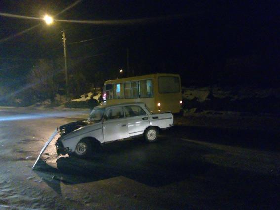 Четыре человека были травмированы в ДТП в Первомайске