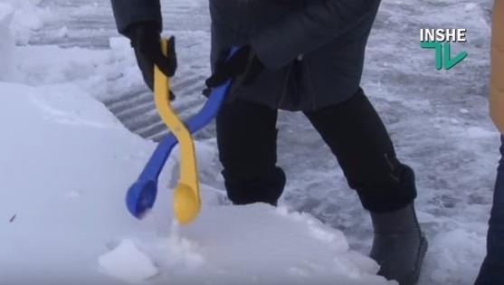 Испытываем…снежколеп!