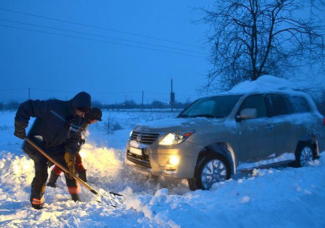 В Николаевской области первый случай обморожения. А мороз крепчает
