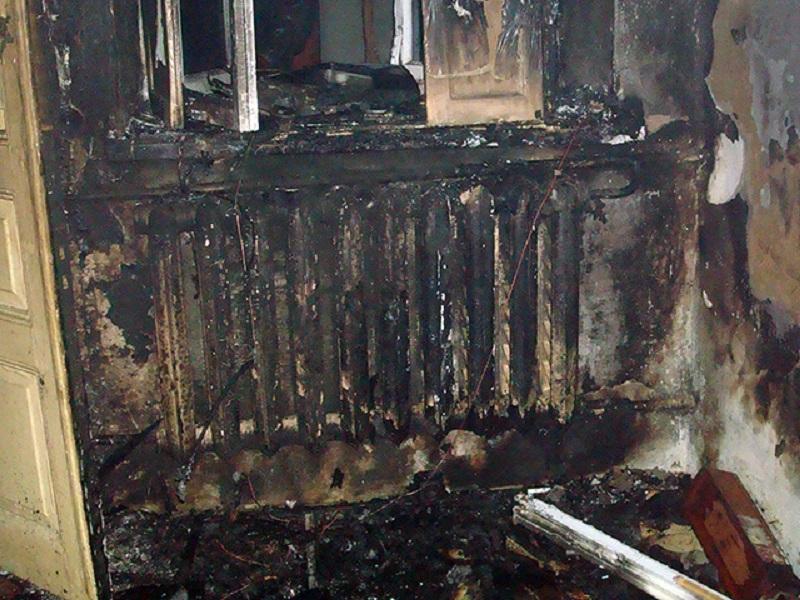 Ночью в Николаеве на Буденного горел жилкоп. Погиб хозяин квартиры