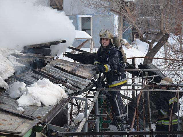 В Николаеве на Парижской коммуны горел дом – проводку замкнуло