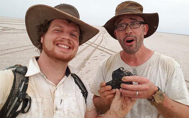 В Австралии обнаружен метеорит, которому 4,5 млрд. лет