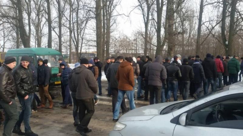 Во Львовской области шахтёры перекрыли международную трассу «Львов — Рава-Русская» в нескольких местах – требуют зарплаты